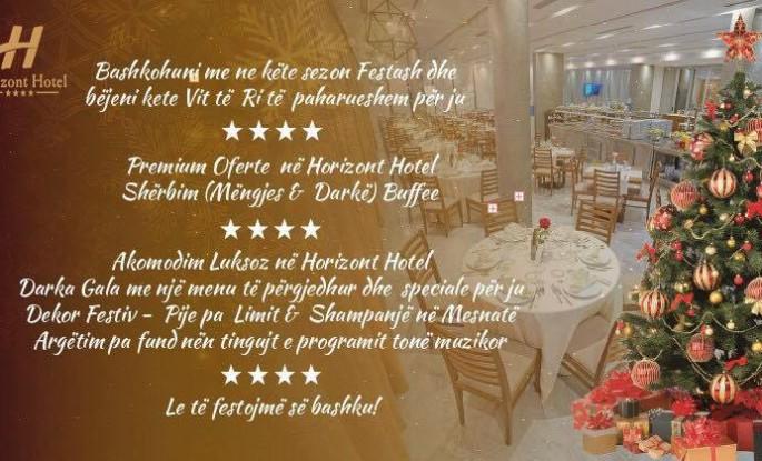Viti i Ri 2018 në Hotel Horizont 4* - Durrës