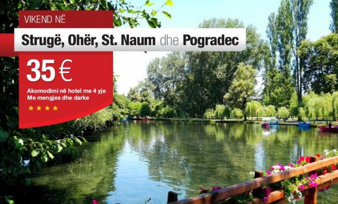 Vikend në Strugë, Ohër & Pogradec  2 ditë / 1 natë