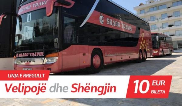 Linja e rregullt Prishtinë - Shëngjin - Velipojë