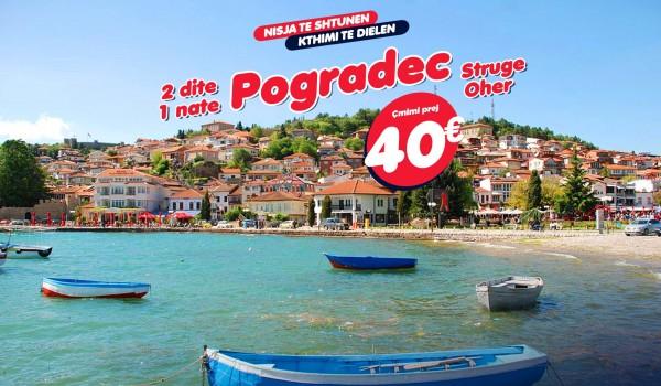 Vikend në Strugë, Ohër& Pogradec 2 ditë/1 natë